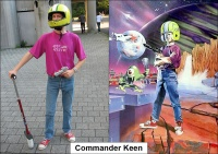 Anne Bras as Commander Keen